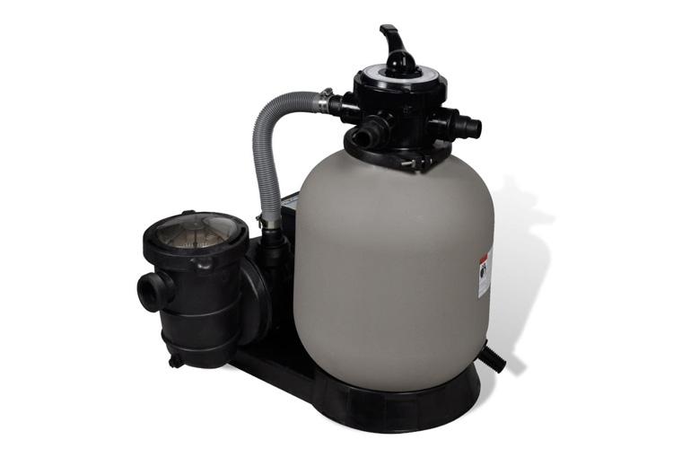 VidaXL avec pompe de piscine 14'' filtre à sable