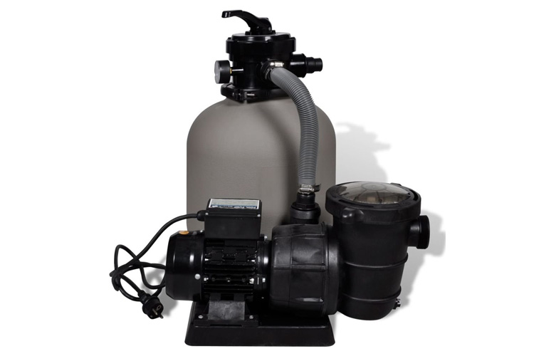 VidaXL avec pompe de piscine 14'' test